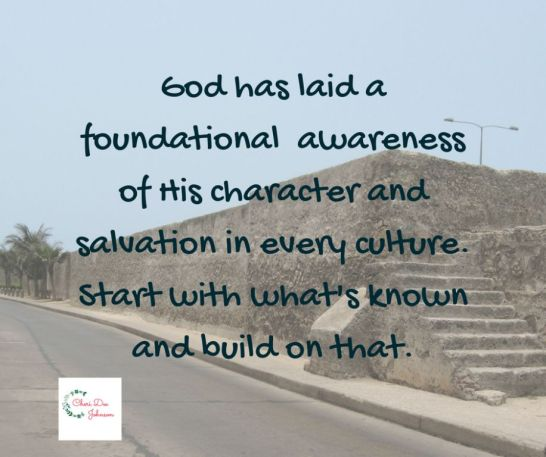 July 24 Foundational Awareness of God